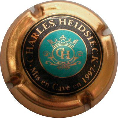 CAPSULE DE CHAMPAGNE CENTRE VIOLET CHARLES-HEIDSIECK N° 61a